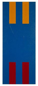 Euro I Polyptychon 1998 Acryl auf Nessel auf Holz